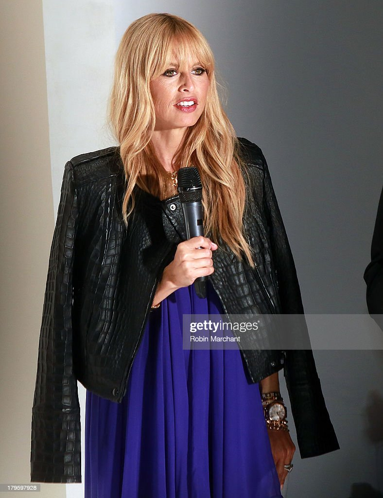 Rachel Zoe attends the Supima show during Spring 2014 Mercedes-Benz Fashion Week at The Studio at Lincoln Center on September 5, 2013 in New York City.