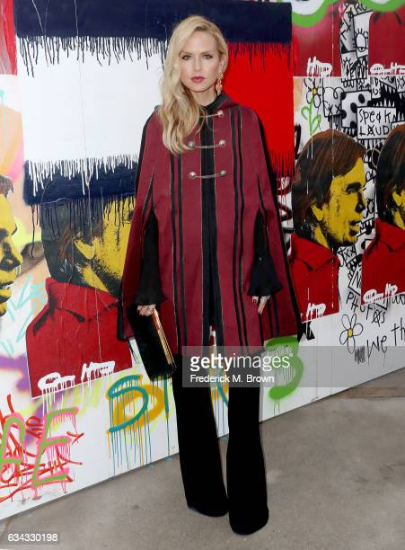 Rachel Zoe attends Tommy Hilfiger Spring 2017 Women's Runway Show at the Windward Plaza on February 8 2017 in Venice California