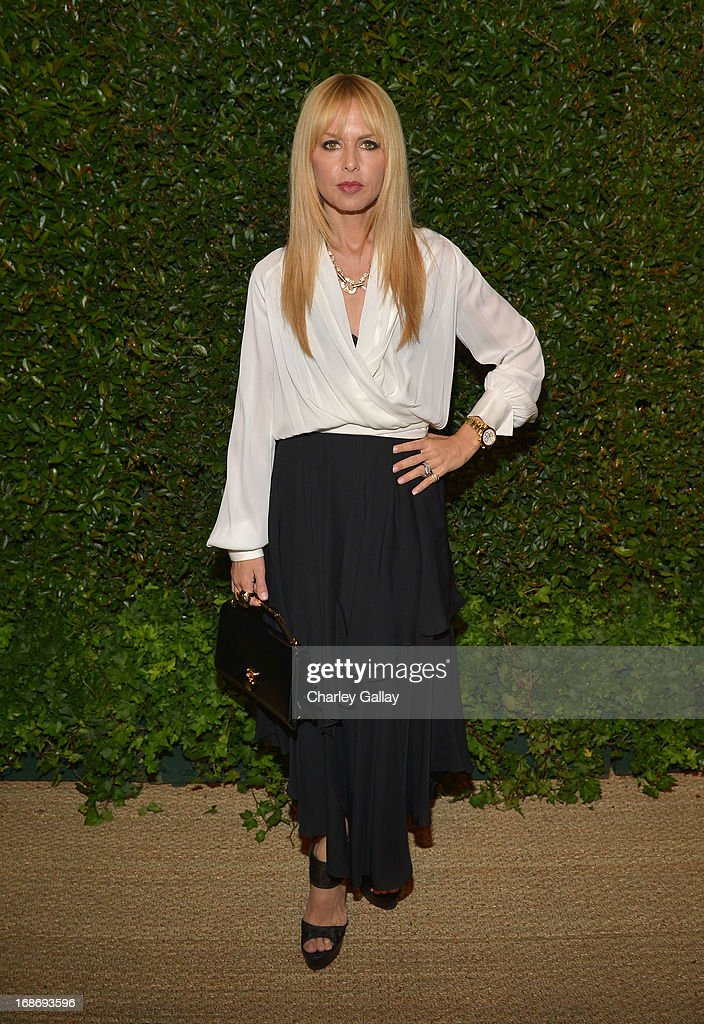 Rachel Zoe attends Vogue and MAC Cosmetics dinner hosted by Lisa Love and John Demsey in honor of Prabal Gurung at the Chateau Marmont on Monday, May 13, 2013 in Los Angeles, California.
