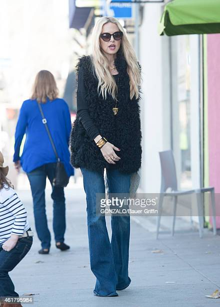 Rachel Zoe is seen in Los Angeles on January 19 2015 in Los Angeles California