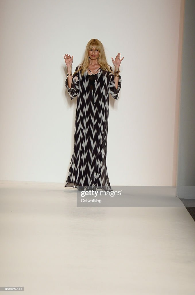 Rachel Zoe on the runway at the Rachel Zoe Spring Summer 2014 fashion show during New York Fashion Week on September 11, 2013 in New York, United States.