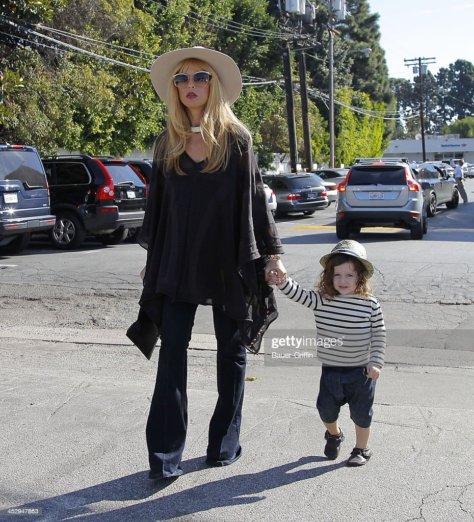 Rachel Zoe with Skyler Berman are seen on December 01, 2013 in Los Angeles, California.