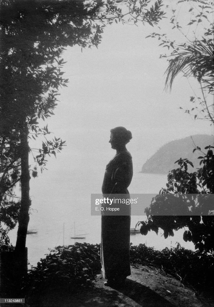 Rachele Mussolini (1890 - 1979), the wife of Italian leader Benito Mussolini, 1924.