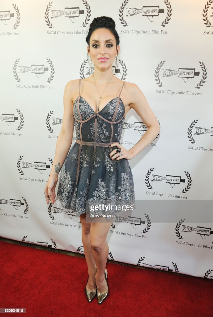 Rachele Royale attends the Premiere Of 'As In Kevin' At Socal Clips Indie Film Fest on August 12, 2017 in Los Angeles, California.