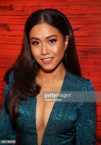 Rachelle Ann Go attends The Opening Night After Party for the New Broadway Production of 'Miss Saigon' at Tavern on the Green on March 23 2017 in New...