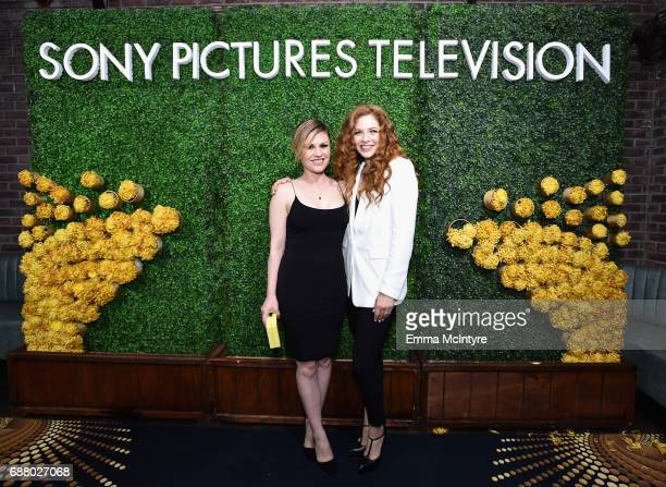 Rachelle Lefevre and Anna Paquin attends the Sony Pictures Television LA Screenings Party at Catch LA on May 24 2017 in Los Angeles California