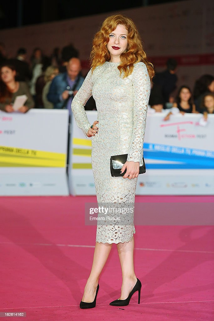 Rachelle Lefevre attends the 'Under The Dome' premiere during the Fiction Fest 2013 at Auditorium Parco della Musica on October 1, 2013 in Rome, Italy.
