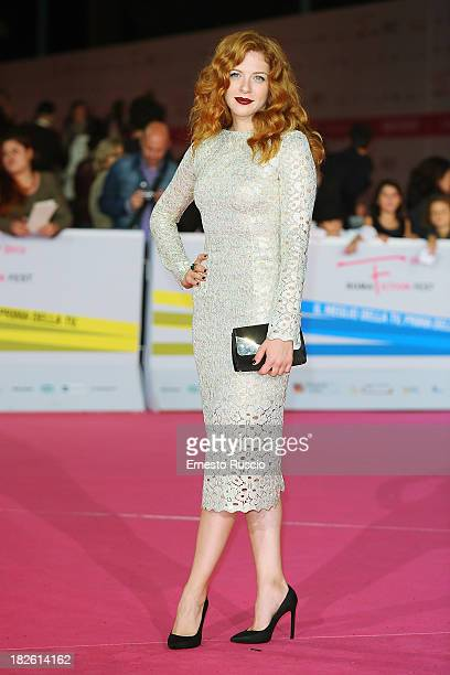 Rachelle Lefevre attends the 'Under The Dome' premiere during the Fiction Fest 2013 at Auditorium Parco della Musica on October 1 2013 in Rome Italy