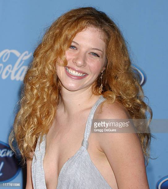 Rachelle Lefevre during 'American Idol' Season 4 Top 12 Finalists Party at Astra West in West Hollywood California United States