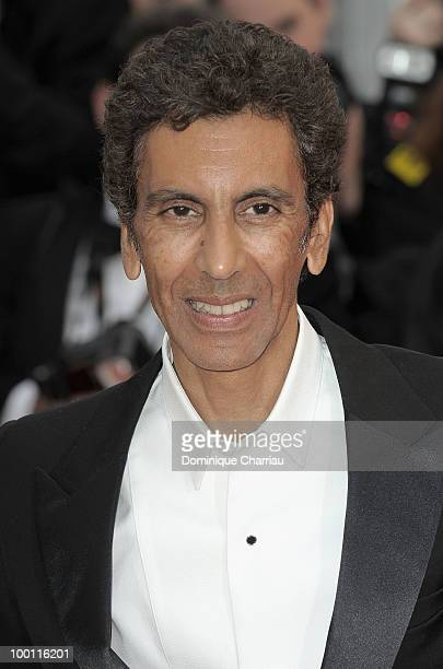 Rachid Bouchareb attends the 'Outside the Law' Premiere at the Palais des Festivals during the 63rd Annual International Cannes Film Festival on May...