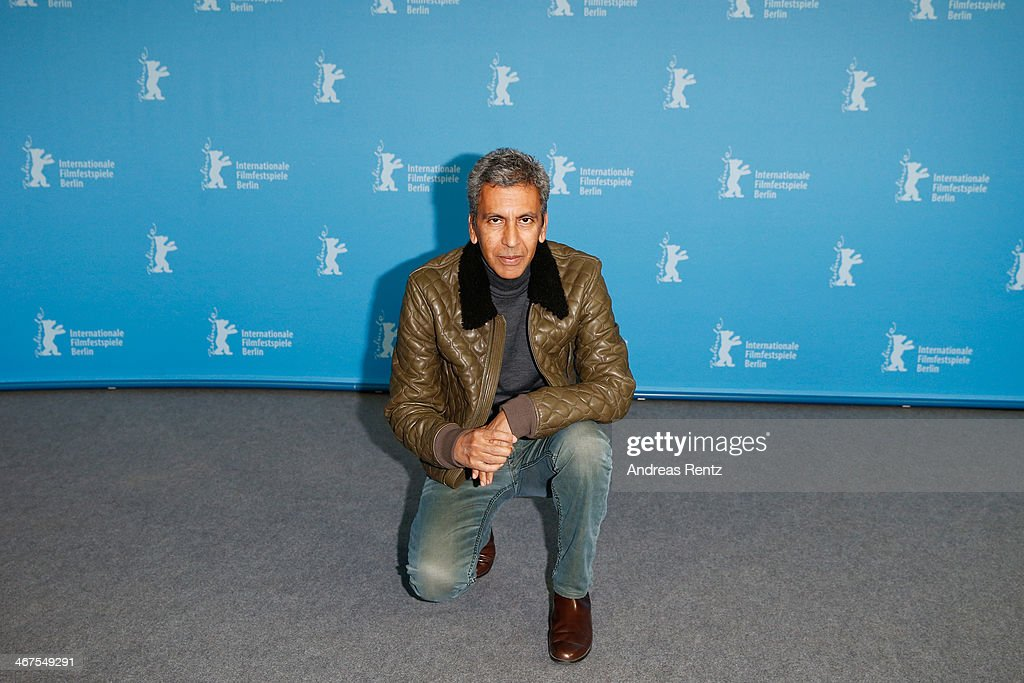 Rachid Bouchareb attends the 'Two Men in Town' (La voie de l'ennemi) photocall during 64th Berlinale International Film Festival at Grand Hyatt Hotel on February 7, 2014 in Berlin, Germany.