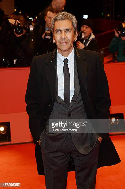 Rachid Bouchareb attends the 'Two Men in Town' premiere during 64th Berlinale International Film Festival at Berlinale Palast on February 7 2014 in...