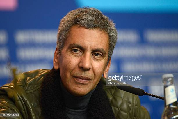 Rachid Bouchareb attends the 'Two Men in Town' press conference during 64th Berlinale International Film Festival at Grand Hyatt Hotel on February 7...