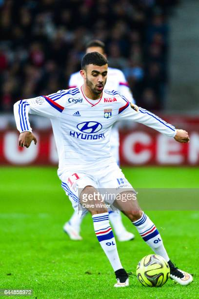 Rachid GHEZZAL Lille / Lyon 27eme journee de Ligue 1 Photo Dave Winter / Icon Sport
