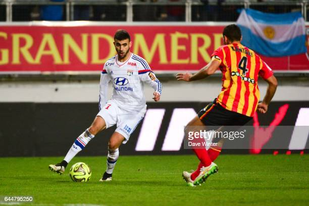 Rachid GHEZZAL / Ahmed KANTARI Lens / Lyon 21eme journee Ligue 1 Photo Dave Winter / Icon Sport