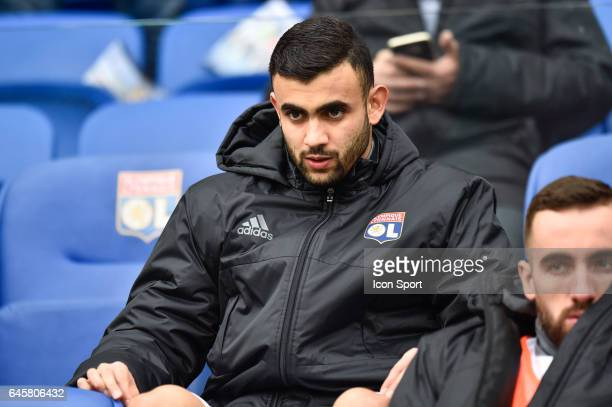 Rachid Ghezzal of Lyon during the French Ligue 1 match between Lyon and Metz at Stade de Gerland on February 26 2017 in Lyon France