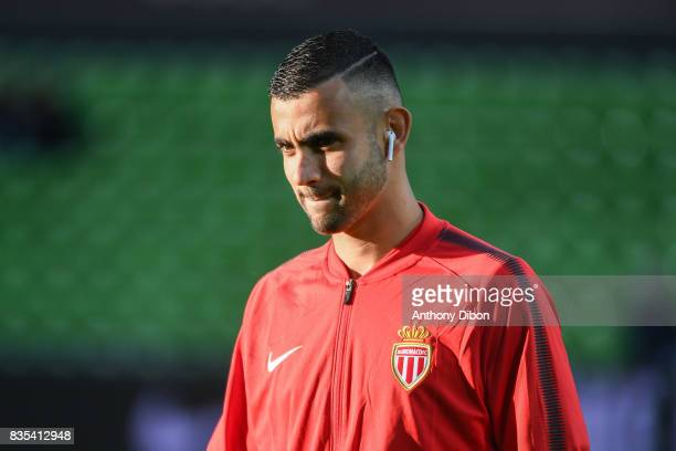 Rachid Ghezzal of Monaco during the Ligue 1 match between FC Metz and AS Monaco on August 18 2017 in Metz