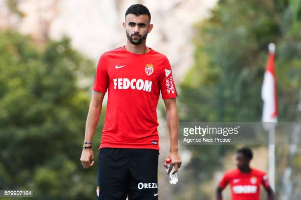Rachid Ghezzal of Monaco during training session of As Monaco on August 11 2017 in Monaco Monaco