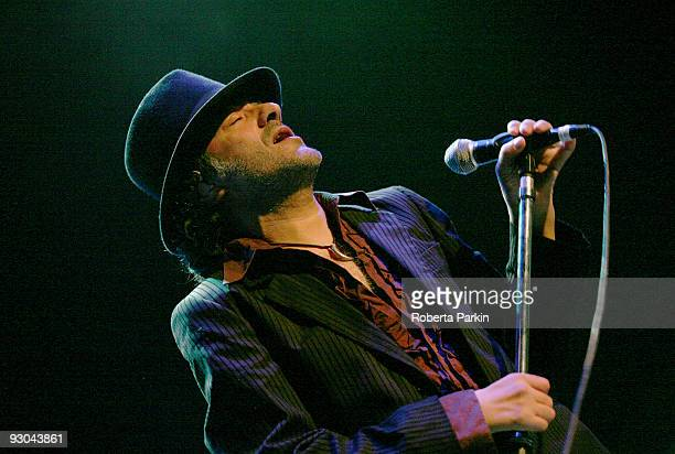 Rachid Taha performs at the Royal Festival Hall on November 13 2009 in London England
