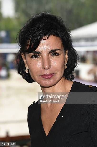 Rachida Dati attends the Paris Eiffel Jumping presented by Gucci at ChampdeMars on July 6 2014 in Paris France