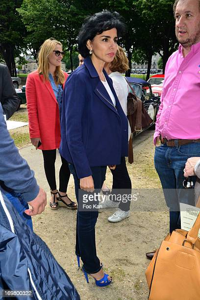 Rachida Dati attends the Rallye Des Princesses 2013 14th Edition' Press Presentation at Esplanade Des Invalides on June 1 2013 in Paris France