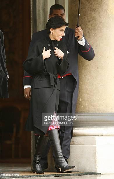 Rachida Dati in Paris France on November 23rd2007