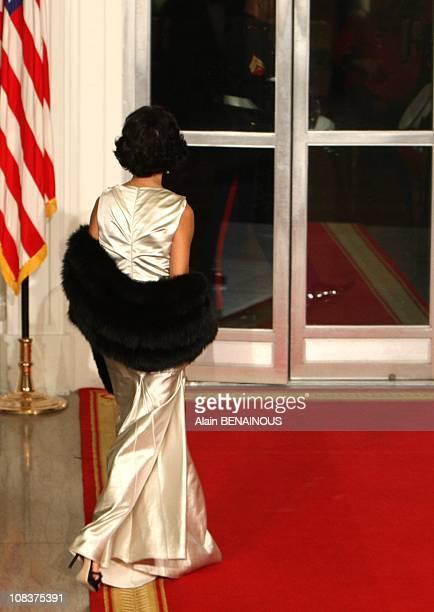 Rachida Dati in Washington United States on November 06th 2007