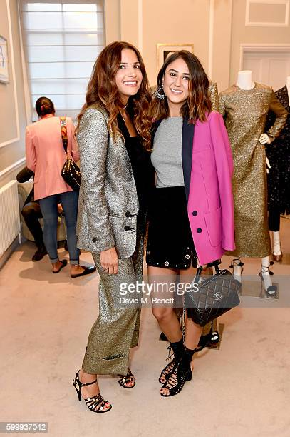 Racil Chalhoub and Soraya Bakhtiar attends a cocktail reception hosted by RACIL and MATCHESFASHIONCOM to celebrate the launch of Racil AW16...