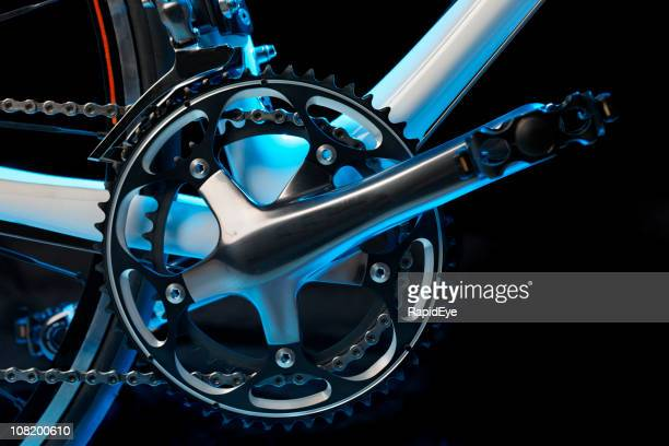 Racing Fahrrad-Detailarbeit
