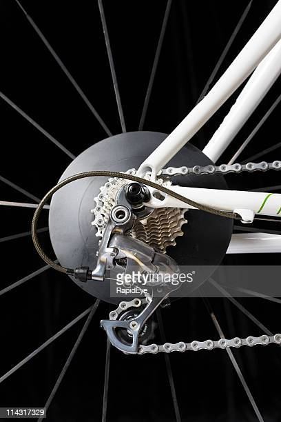 Racing bike rear wheel