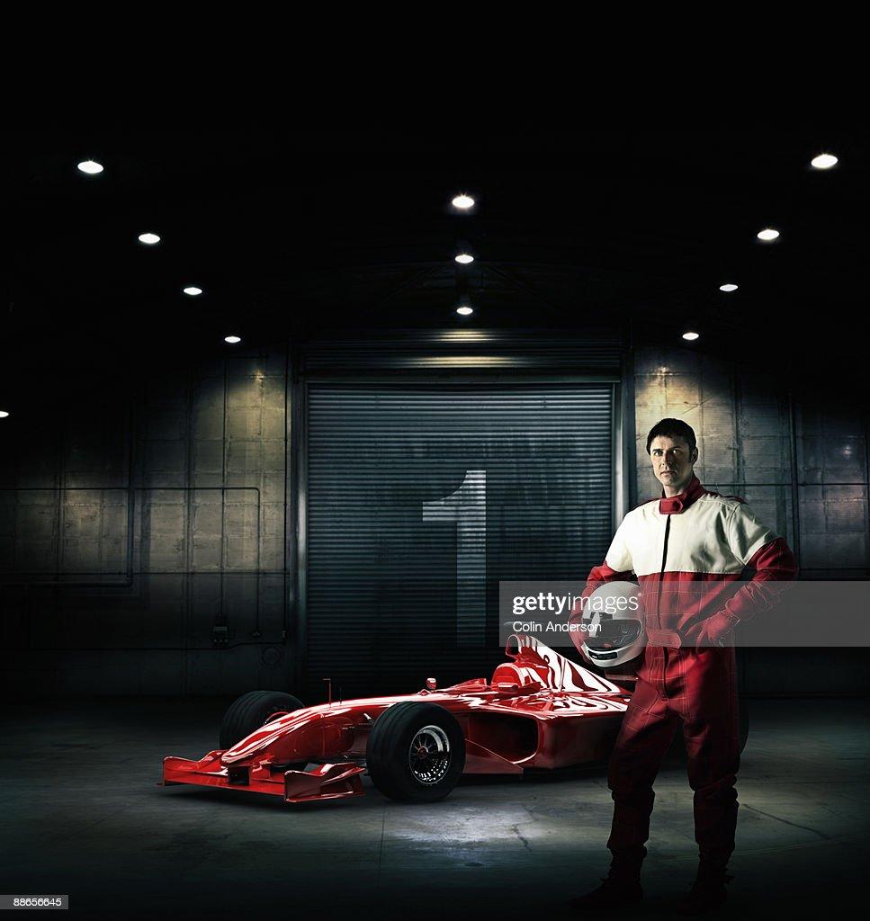 racing car driver