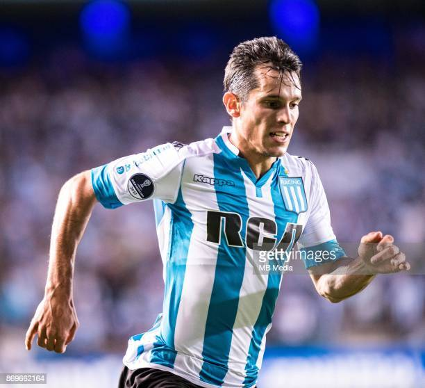 NOVEMBER 01 Racing Club Augusto Jorge Solari during the Copa Sudamericana quarterfinals 2nd leg match between Racing Club de Avellaneda and Club...