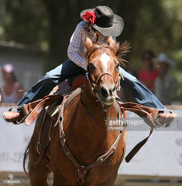 Racing Cowgirl