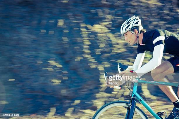 Ciclista allenamento