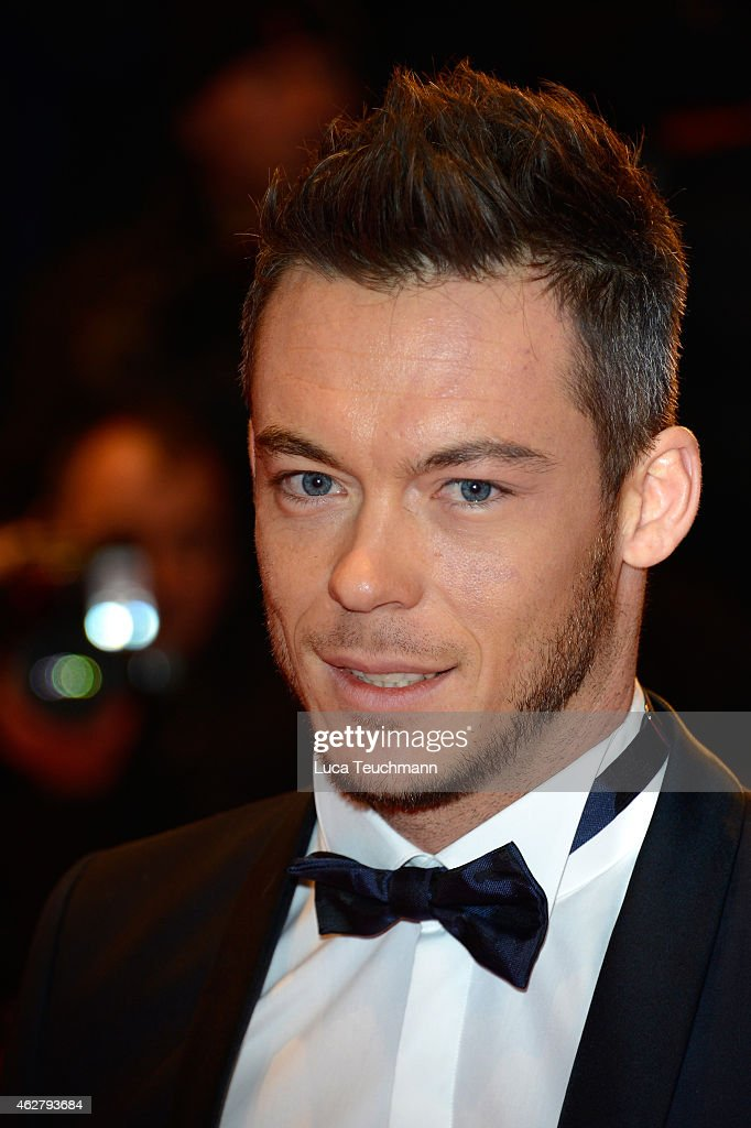 DTM racing driver <a gi-track='captionPersonalityLinkClicked' href=/galleries/search?phrase=Andre+Lotterer&family=editorial&specificpeople=2380096 ng-click='$event.stopPropagation()'>Andre Lotterer</a> attends the 'Nobody Wants the Night' (Nadie quiere la noche) Opening Night premiere during the 65th Berlinale International Film Festival at Berlinale Palace on February 5, 2015 in Berlin, Germany.