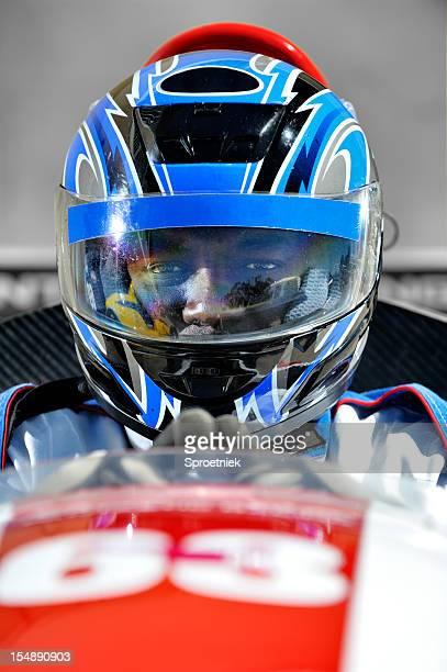 Racing driver Konzentration