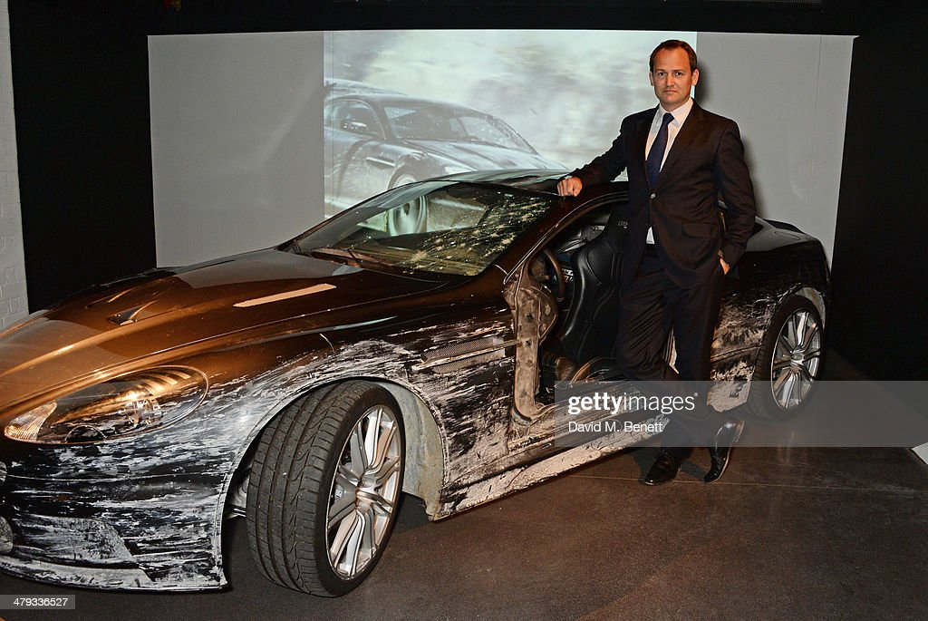 Racing driver Darren Turner attends the 'Bond In Motion' photocall at the London Film Museum on March 18 2014 in London England