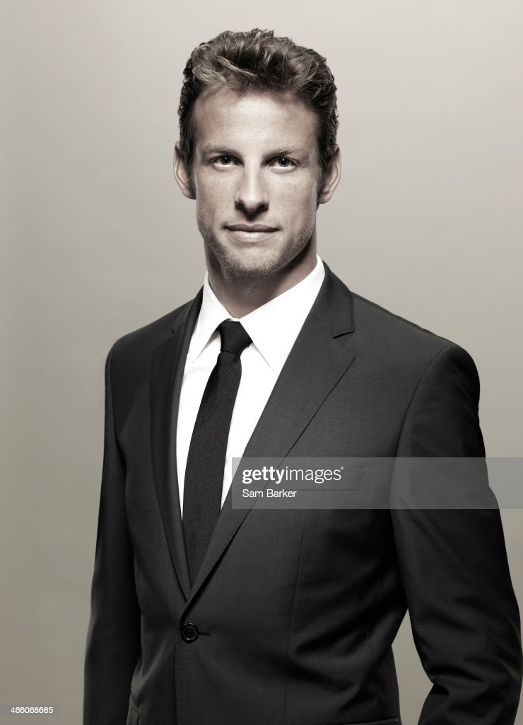Racing driver <a gi-track='captionPersonalityLinkClicked' href=/galleries/search?phrase=Jenson+Button&family=editorial&specificpeople=171505 ng-click='$event.stopPropagation()'>Jenson Button</a> is photographed on September 6, 2010 in London, England.