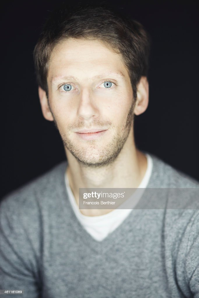 Racing driver <a gi-track='captionPersonalityLinkClicked' href=/galleries/search?phrase=Romain+Grosjean&family=editorial&specificpeople=4858519 ng-click='$event.stopPropagation()'>Romain Grosjean</a> is photographed for Self Assignment on December 4, 2013 in Paris, France.