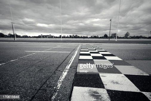 Racing Finish Line