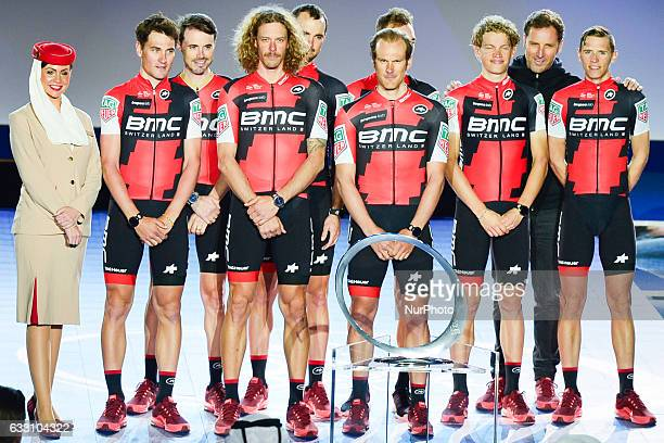 BMC Racing Team at the Official Opening Ceremony of the 2017 Dubai Tour at the outdoor amphitheatre in the Westin Dubai Mina Seyahi Beach Resort amp...