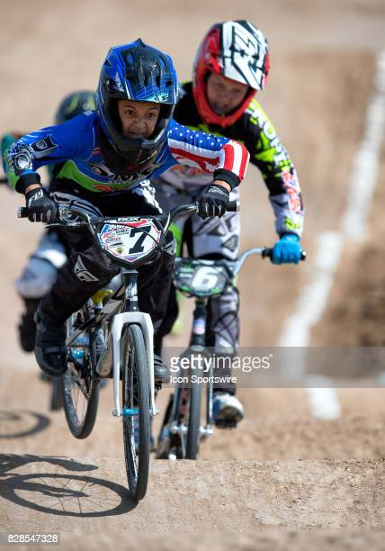 Racing's Matthew Pavon competed in the 1112 Open and 12 Expert classes at the USA BMX Mile High Nationals on August 6 at Grand Valley BMX in Grand...