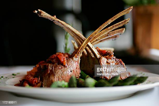 Rack of Lamb center focus