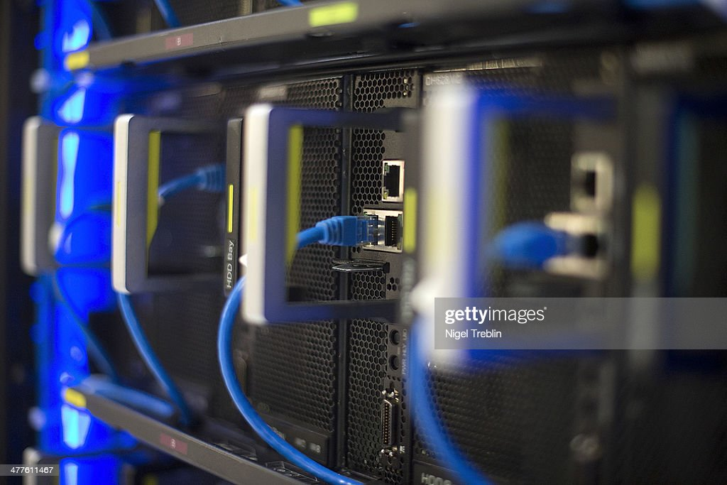 A Rack Server is seen at the Huawei stand at the 2014 CeBIT technology Trade fair on March 10, 2014 in Hanover, Germany. CeBIT is the world's largest technology fair and this year's partner nation is Great Britain.