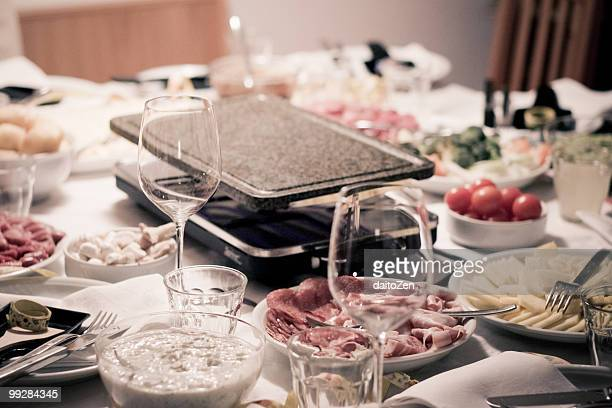 Raclette on New Year's Eve