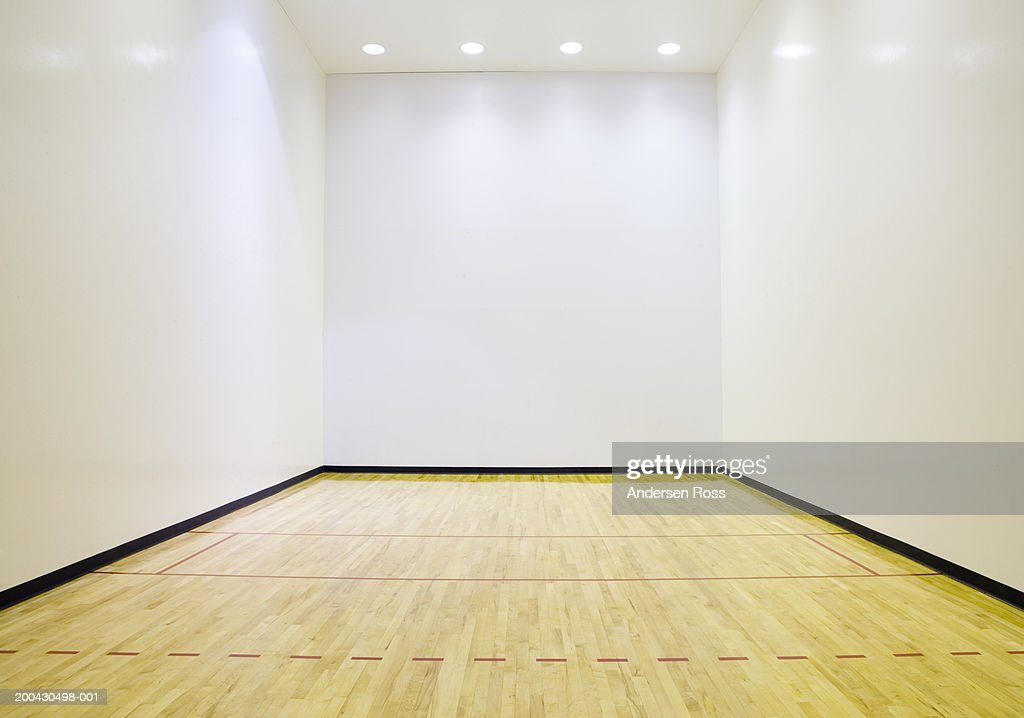 Racquetball Court Stock Photo Getty Images