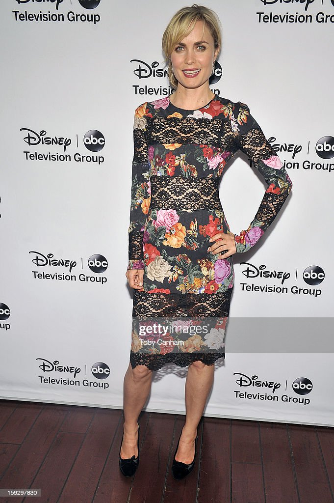 Rada Mitchell arrives for the Disney ABC Television groups '2013 Winter TCA Tour' event at The Langham Huntington Hotel and Spa on January 10, 2013 in Pasadena, California.