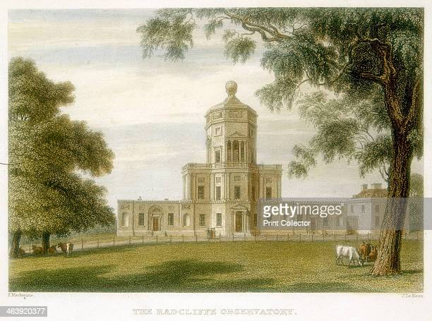 Radcliffe Observatory Oxford England 1834 Founded in 1772 the observatory is named after the physician John Radcliffe a graduate of Oxford University...
