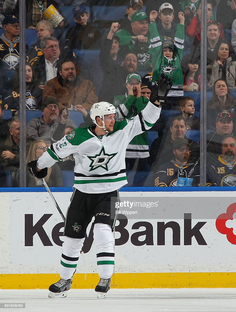 Radek Faksa has been one of the best players for the Stars this season (GettyImages)