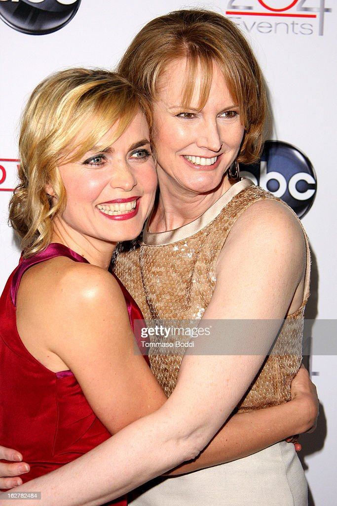 <a gi-track='captionPersonalityLinkClicked' href=/galleries/search?phrase=Radha+Mitchell&family=editorial&specificpeople=204168 ng-click='$event.stopPropagation()'>Radha Mitchell</a> (L) and Melissa Rosenberg attend the ABC's new series 'Red Widow' held at Romanov Restaurant Lounge on February 26, 2013 in Studio City, California.